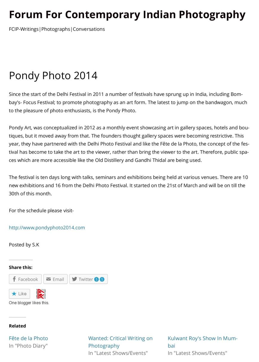 Pondy Photo 2014 | Forum For Contemporary Indian Photography-page-001