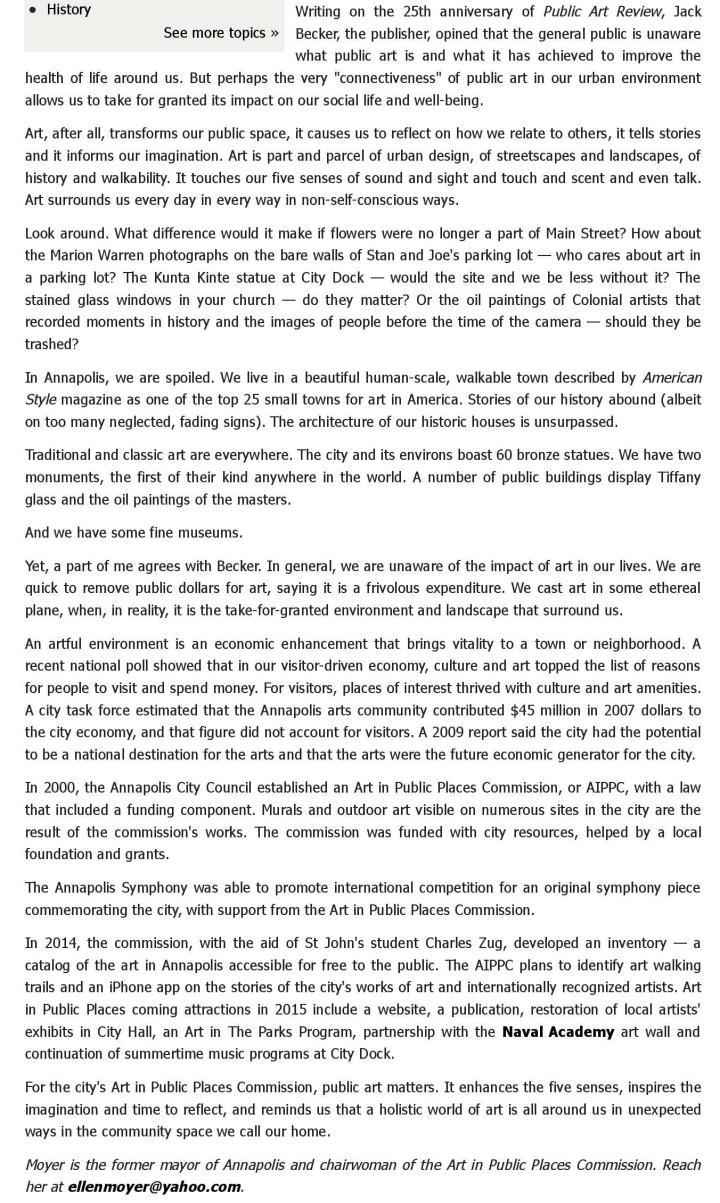 Guest column: Why we need public art - capitalgazette.com-page-002